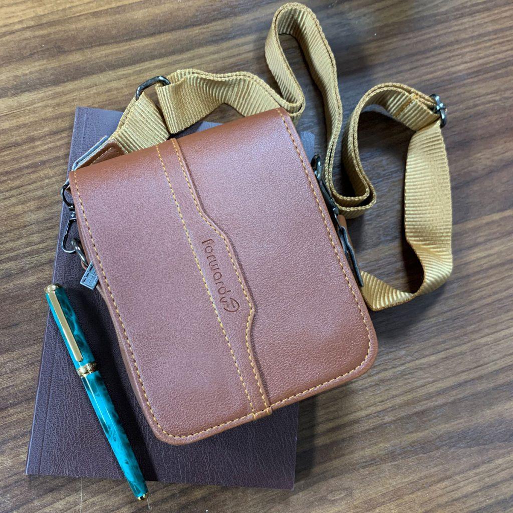 کیف چرم رودوشی فوروارد مدل FCLT730